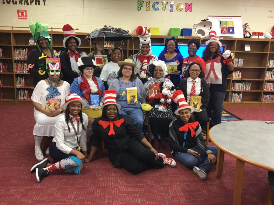 Staff Read Across America Day
